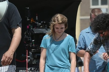 Sophie Nelisse 'The History of Love' Films at Coney Island