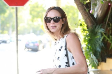 Stacy Keibler Stacy Keibler Lunches at Il Piccolino
