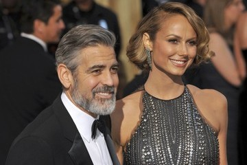 Stacy Keibler George Clooney 85th Annual Academy Awards Arrivals