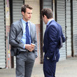 Holt McCallany and Theo James Photos