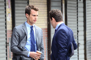 Holt McCallany and Theo James Photos Photo