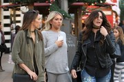 TV personality Stassi Schroeder was spotted shopping with actress Scheana Marie and their friend at The Grove in Hollywood, California on November 21, 2016.