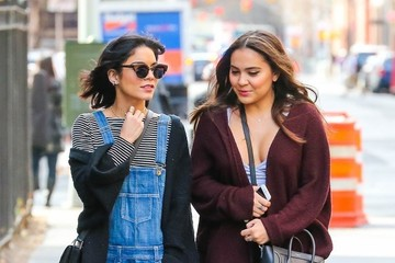 Stella Hudgens Vanessa Hudgens and Sister Stella Out For a Stroll in NYC