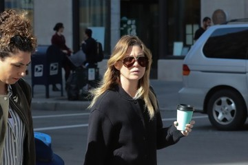 Stella Ivery Ellen Pompeo Out With Her Daughter In NYC