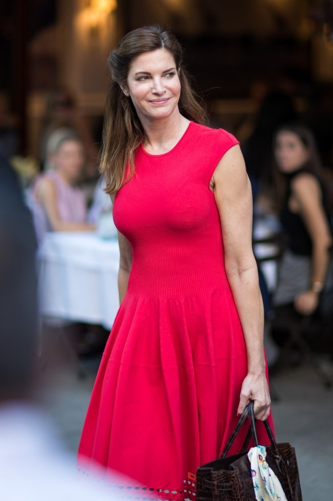 Stephanie Seymour Goes Out in NYC 1 of 7 - Zimbio