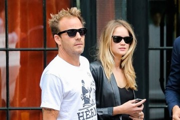 Stephen Dorff Celebrities Spotted Outside the Bowery Hotel