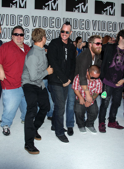 Ryan Dunn and Steve-O - 2010 MTV Video Music Awards - Arrivals
