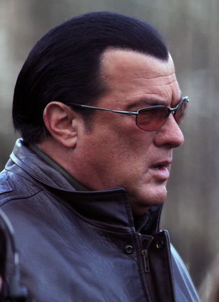 Steven Seagal Hits The...