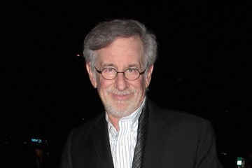 Steven Spielberg Steven Spielberg Takes His Family Out to Eat