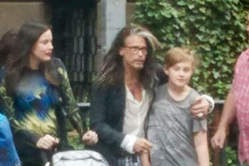 Steven Tyler Liv Tyler and Steven Tyler Have Some Father/Daughter Bonding