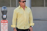 Sylvester Stallone Grabs Lunch At The Palm
