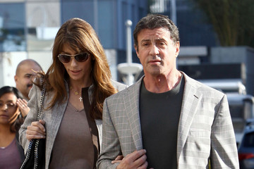 Jennifer Flavin Sylvester Stallone And Jennifer Flavin Shopping In Beverly Hills