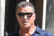 Sylvester Stallone Goes Out With Friends in Beverly Hills
