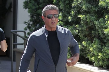 Sylvester Stallone Sylvester Stallone Has Lunch in Beverly Hills