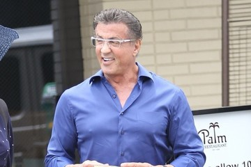 Sylvester Stallone Sylvester Stallone Lunches in Beverly Hills