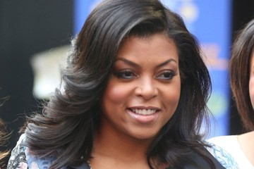 Taraji P. Henson 'Think Like a Man Too' Stars at the ABC Studios