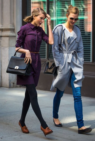 Taylor Swift and Karlie Kloss Spend the Day Together