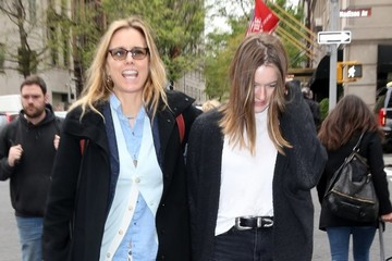 Tea Leoni Tea Leoni and Her daughter Out In New York City