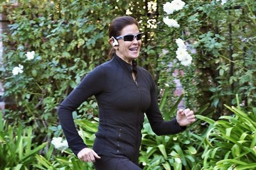 Teri Hatcher Teri Hatcher Goes For A Jog