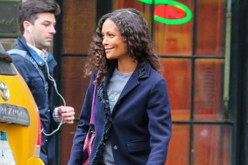Thandie Newton Thandie Newton Leaving the Bowery Hotel