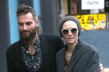 Tilda Swinton Tilda Swinton and Sandro Kopp Take a Stroll