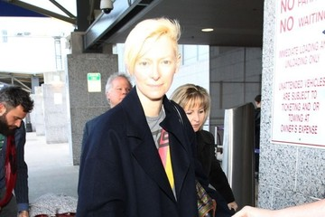 Tilda Swinton Celebs Leaves the SXSW Festival
