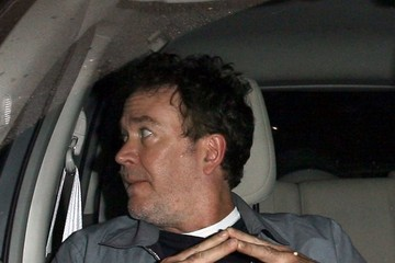 Timothy Hutton Celebs Grab Dinner at Craig's