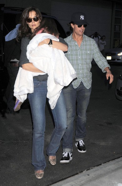 Katie Holmes And Tom Cruise And Suri. Suri. Tom Cruise, Katie Holmes
