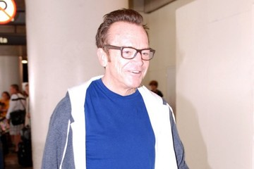 Tom Arnold Tom Arnold Arriving On A Flight At LAX