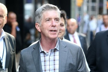 Tom Bergeron Celebrities At 'Good Morning America'