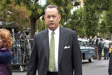 Tom Hanks Tom Hanks Spotted on Set