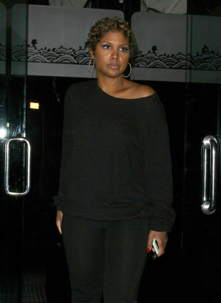 Nosee Rosee Toni Braxton And Her New Short Do Dine At Mr Chow
