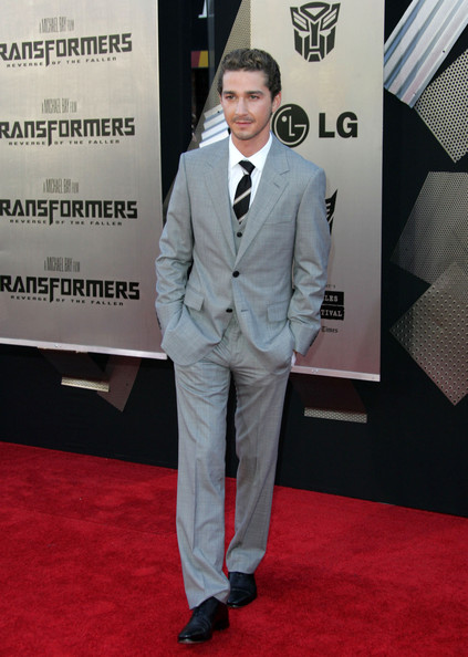 shia labeouf transformers 2 premiere. Shia LaBeouf Celebrities walk