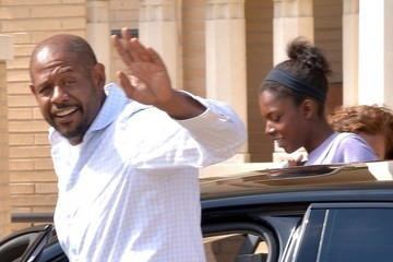 True Whitaker Forest Whitaker Shops For Groceries With His Family