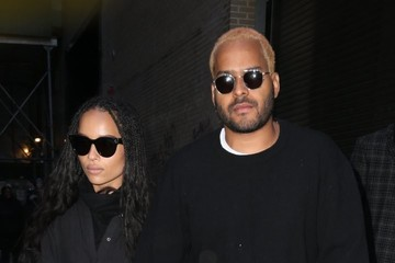 Twin Shadow Zoe Kravitz Out With Her Boyfriend in NYC