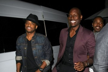 Tyrese Gibson Celebrities Dine Out at Mr Chow Restaurant