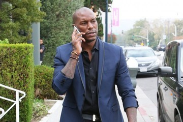 Tyrese Gibson Tyrese Gibson Out in Beverly Hills