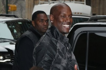 Tyrese Gibson Celebrities Drop By 'The View'