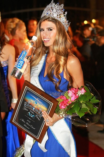 """Vanessa Golub becomes """"Miss West Coast 2014"""" after competing at the first annual Miss West Coast Annual Pageant sponsored by 138 Water and held at The Lorenzo in Los Angeles on March 31, 2014. The event judged by actress Natasha Henstridge was hosted by producer Tara Rice and hosted by Entourage' actress and Miss North Hollywood Brittany Wagner.<br /> <br /> Pictured: Vanessa Golub"""