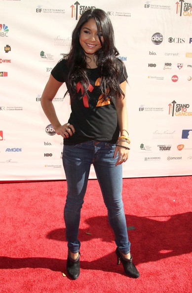 Vanessa Hudgens Celebrities attending the 2010 Stand Up To Cancer event at Sony Pictures Studios in Culver City, CA.