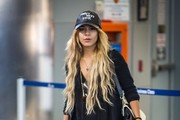 Vanessa Hudgens Arrives at LAX