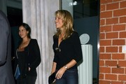 Vanna White Dines Out At Mr Chow Restaurant