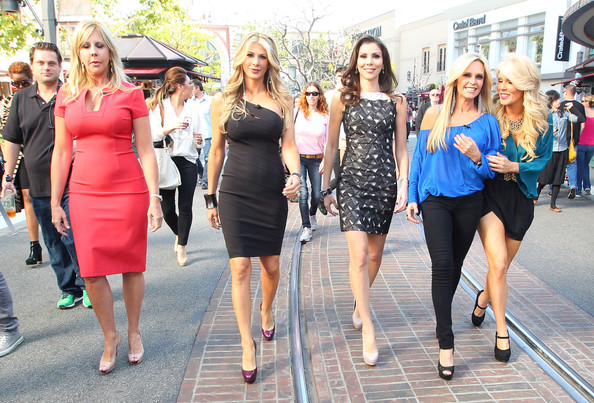 ... Vicki Gunvalson - Real Housewives Of Orange County Invade The Grove
