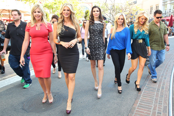 Vicki Gunvalson - Real Housewives Of Orange County Invade The Grove