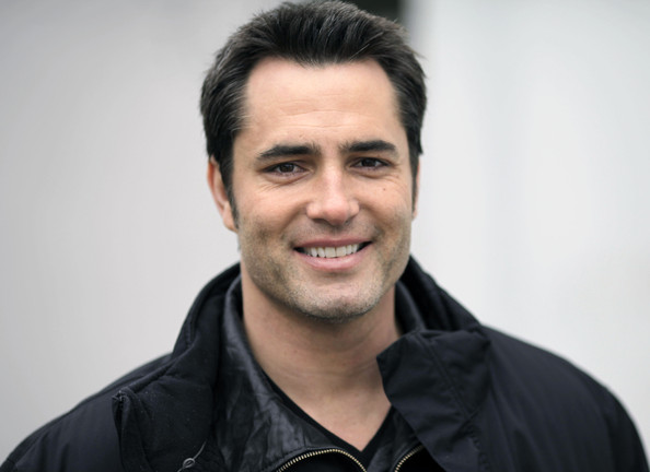 "Exclusive: Actor Victor Webster was all smiles on the set of ""Continuum"" TV series in Vancouver, British Columbia, Canada on February 20, 2012."
