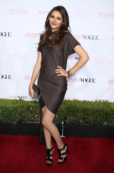 Victoria Justice Celebrities attending the 8th annual Teen Vogue Young Hollywood Party at the Paramount Studios in Hollywood, CA.