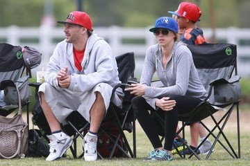 Victoria Prince Britney Spears and Kevin Federline Watch Their Boys