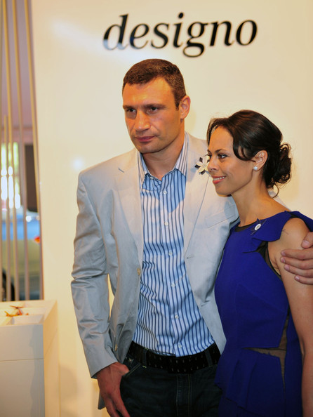 Vitali Klitschko Photos Photos - Vitali Klitschko & Wife