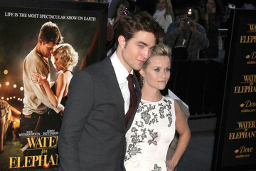 Reese Witherspoon Robert Pattinson 'Water For Elephants' New York Premiere