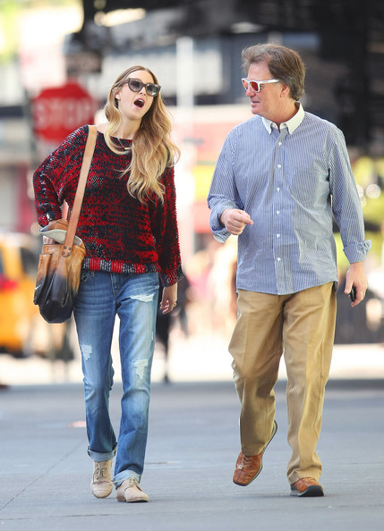 Photo of Whitney Port & her Father  Jeffery Port
